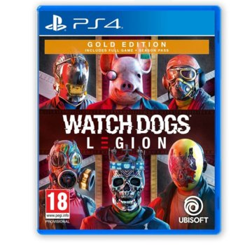 Watch Dogs: Legion - Gold Edition PS4 product