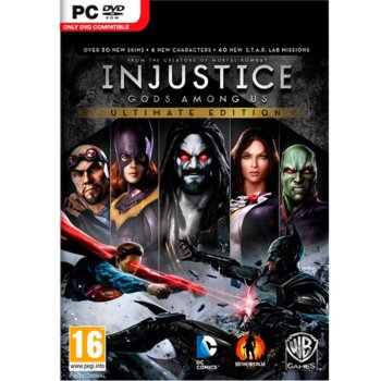 Injustice: Gods Among Us Ultimate Edition product