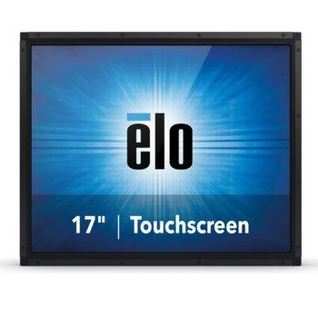 """Монитор ELO E334726, 17""""(43.18 cm), TN тъч панел, SXGA, 5ms, 1000:1, 220cd/m2, VGA, DisplayPort, HDMI, RS232, черен image"""