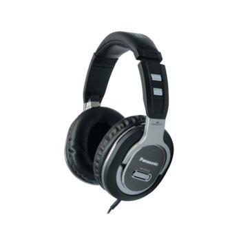 Слушалки Panasonic RP-HTF600E-S, 2.5 м кабел, 3.5 mm жак, сребристи image
