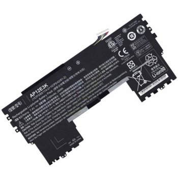 Батерия (оригинална) за лаптоп Acer Aspire, съвместима с S7/S7 Ultrabook/S7-191, 7.4V, 28Wh image
