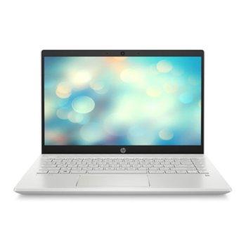 "Лаптоп HP Pavilion 14-ce2000nu (7JW33EA)(бял), четириядрен Whiskey Lake Intel Core i5-8265U 1.6/3.9 GHz, 14"" (35.56 cm) Full HD IPS Anti-Glare Display, (HDMI), 8GB DDR4, 256GB SSD, 1x USB 3.1 Type-C, Free DOS, 1.59 kg image"