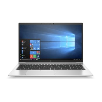 "Лаптоп HP EliteBook 850 G7 (8TP53AV_32882052)(сребрист), четириядрен Comet Lake Intel Core i7-10510U 1.8/4.9 GHz, 15.6"" (39.62 cm) Full HD IPS Anti-Glare Display & GF MX250 2GB, (HDMI), 16GB DDR4, 512GB SSD, Windows 10 Pro image"