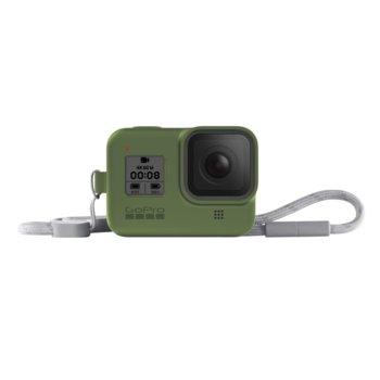 Калъф GoPro Sleeve + Lanyard Turtle Green за HERO8 Black, с връзка, зелен image