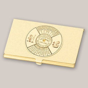 Визитник Sea Power 50 years calendar, 9.2 cm x 6 cm image
