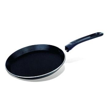 Тиган за палачинки SAPIR SP 1322 A24, алуминий, 24 см, тефлоново покритие, черен image