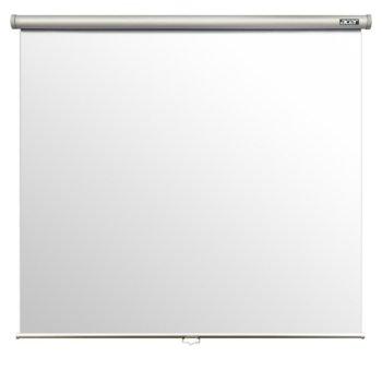 "Екран Acer M87-S01MW, екран за стена/таван, 87""(220.98 cm), 70'x70'(1740mm X 1740mm), 4:3 image"