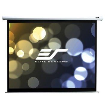 "Екран Elite Screens Saker SK200XVW2, за стена, White, 4064 x 3048 мм, 200"" (508 cm), 4:3 image"