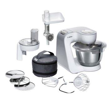 Кухненски робот Bosch MUM58224, 7 степени на работа, 3D PlanetaryMixing функция, 1000W, сив  image