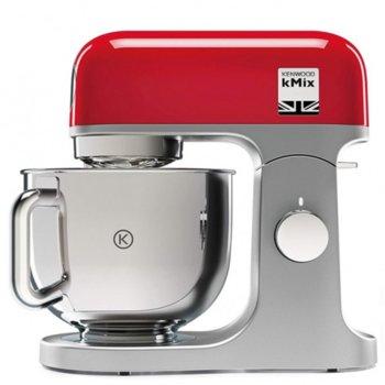 Кухненски робот Kenwood KMX750RD, 1000W, 6 скорости, червен/инокс image