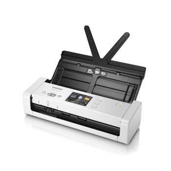 Скенер Brother ADS-1700W, 1200 x 1200 dpi, A4,  image