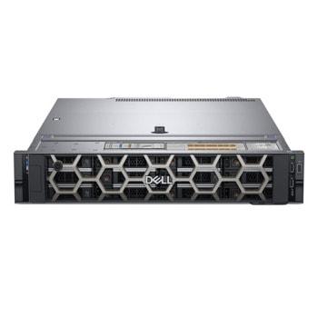 Сървър Dell PowerEdge R540 (PER540CEE04_SSD), десетядрен Skylake Intel Xeon 4214 2.2/3.0 GHz, 16GB DD4 RDIMM, 480GB SSD, 2x 1GbE, 2x USB 3.0, без ОС, 750W (1+1) image