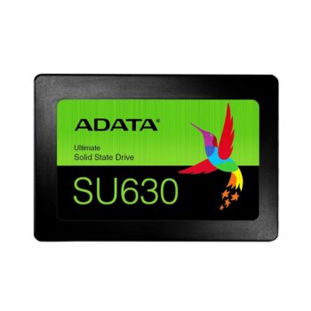 """Памет SSD 960GB Adata SU630, SATA 6Gb/s, 2.5""""(6.35 cm), скорост на четене 520MB/s, скорост на запис 450MB/s image"""