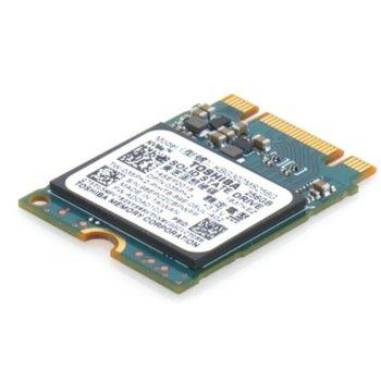 Памет SSD 256GB Toshiba BG3 с адаптер позволяващ монтаж като за (2280), bulk, NVMe, M.2 (2230), скорост на четене 1330 MB/s, скорост на запис 800 MB/s image