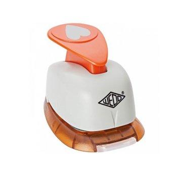 Декоративен перфоратор Wedo, сърце, 25mm image