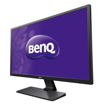 """Монитор BenQ GC2870H (9H.LEKLA.TBE), 28"""" (71.12 cm) VA панел, Full HD, 5 ms, 20 000 000:1, 300cd/m2, HDMI, VGA image"""