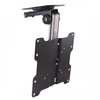 Стойка за телевизор SBOX CLCD-222, екран от 17 до 37 инча, VESA до 200Х 400, тегло до 20кг., черна, за таван image