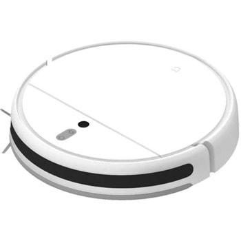 Прахосмукачка Xiaomi Mi Robot Vacuum Mop, робот, безжична, 40W, 0.6 л. капацитет на контейнера, 0.2 л. контейнер с вода, до 150 мин, работа, моп, Wi-Fi, бяла image