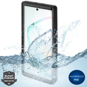 Калъф за Samsung Galaxy Note 10, хибриден, 4Smarts Rugged Active Pro STARK 4S467517, удароустойчив, водоустойчив, черен image