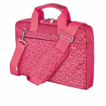 Trust Bari Carry Bag Pink Hearths 21163