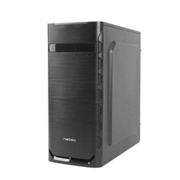 Кутия NATEC Fury Case Apion NPC-1292, ATX/Micro ATX/Mini ATX, 1 x USB 3.0 / 1x USB 2.0, черна, без захранване image
