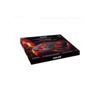 "Охлаждаща поставка за лаптоп Maxell Samurai CA-CL-9, за лаптопи до 17.3"" (43.94cm), 4 вентилатора, USB, черна image"
