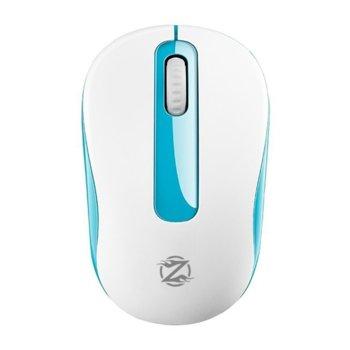Мишка ZornWee W550, оптична (1600dpi), безжична , USB , бяла image