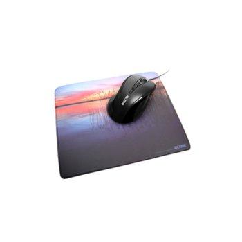Подложка за мишка Acme Plastic Mouse Pad Sun/Lake, 230 x 195 x 3 mm, щампа  image