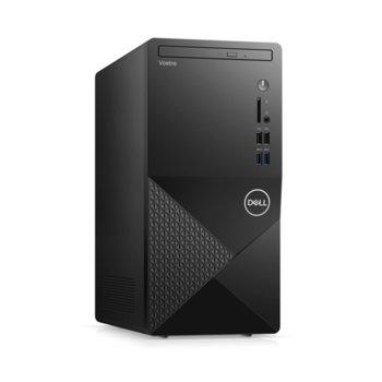 Настолен компютър Dell Vostro 3888 MT (N113VD3888EMEA01_2101), шестядрен Comet Lake Intel Core i5-10400 2.9/4.3 GHz, 8GB DDR4, 1TB HDD, 4x USB 3.1, клавиатура и мишка, Windows 10 Pro image