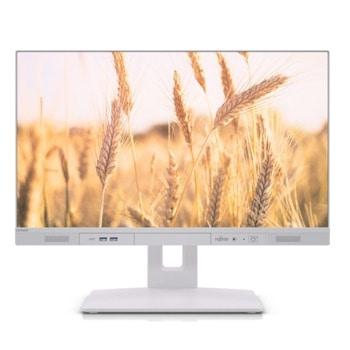 "All In One компютър Fujitsu Esprimo K5010 (VFY:K5010PC50MIN), шестядрен Comet Lake Intel Core i5-10500 3.1/4.5 GHz, 23.8"" (60.45 cm) Full HD Anti-Glare Display, 8GB DDR4, 256GB SSD, 1x USB 3.2 Type-C, Windows 10 Pro image"