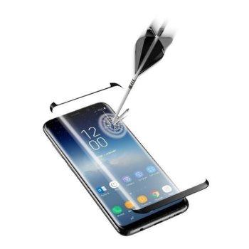CellularLine стъкло Samsung Galaxy S9 Черно 3D product