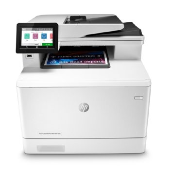 Мултифункционално лазерно устройство HP Color LaserJet Pro MFP M479fdn, цветен принтер/копир/скенер/факс, 600 x 600 dpi, 27 стр./мин, LAN, USB, A4 image