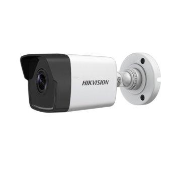 "IP камера Hikvision DS-2CD1023G0-I, насочена ""bullet"" камера, 2MP (1920×1080@25fps), 2.8 mm/4 mm/6 mm обектив, H.264+, H.264, MJPEG, IR осветление (до 30m), външна IP67, PoE, RJ-45 image"