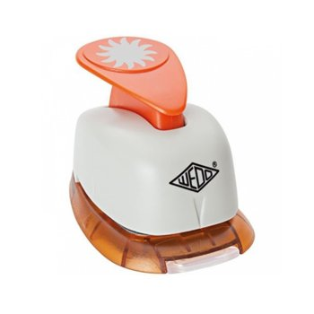 Декоративен перфоратор Wedo, слънце, 18mm image