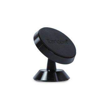 Магнитна стойка за телефон Earldom EH-23, за кола, универсална, черен image