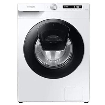 Перална машина Samsung WW90T554DAW/S7, клас A+++, 9 кг. капацитет, 1400 оборота в минута, свободностояща, 60 cm. ширина, Eco Bubble, Steam Hygiene, Drum Clean, AI Control, бяла image