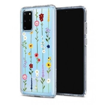 Калъф за Samsung Galaxy S20 Plus, хибриден, Spigen Ciel Floral Garden ACS00763, удароустойчив, луксозен, прозрачен image