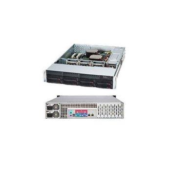 SuperMicro CSE-825TQ-R740LPB, 2x 740W захранване, черна image