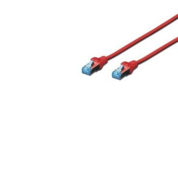 Пач кабел Assmann Cat.5e 3m FTP червен product