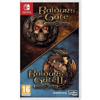 Baldurs Gate I and II: Enhanced Edition Switch product