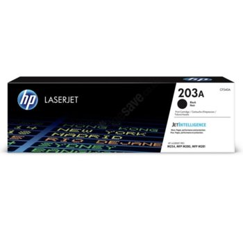 Касета за HP Color LaserJet Pro M254nw, M254dw, MFP M280nw, MFP M281fdn, MFP M281fdw - 203A - Black - P№ CF540A - 1 400k image