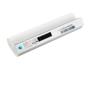 Батерия (заместител) за Asus EEE PC series, 7.4V, 4400 mAh, бяла image