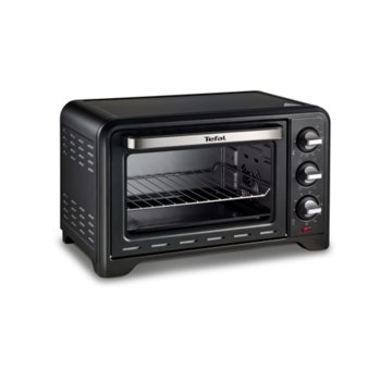 Фурна Tefal Optimo 33 L, 1600 W, 33л. обем, 6 нива на готвене, таймер, черна image