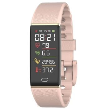 Смарт гривна MyKronoz ZeTrack+ Pink, Bluetooth 4.0, 90mAh батерия, водоустойчив IP67, Android, iOS, Windows, розова image
