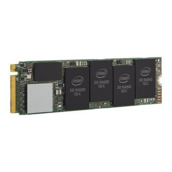 Памет SSD 1TB Intel 660p Series, PCI-E NVMe 3.0, M.2, скорост на четене 1800 MB/s, скорост на запис 1800 MB/s  image