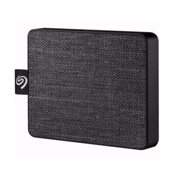 Памет SSD 1TB, Seagate One Touch, външна, USB 3.2 , скорост на четене 400 MB/s, черен image