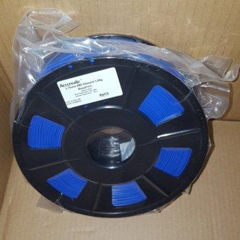 Консуматив за 3D принтер Acccreate, ABS filament, 1.75mm, син, 1kg image