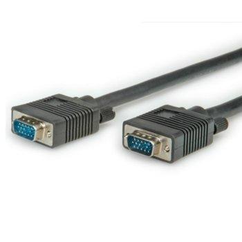 Кабел Roline S3603, от VGA(м) към VGA(м), 3m, черен image