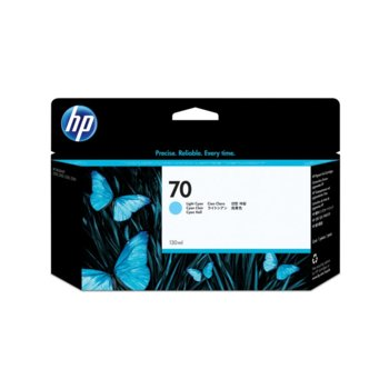 ГЛАВА HP DesignJet Z2100/Z3100 series - Light cyan ink - P№ C9390A - /70/ - заб.: 130ml image