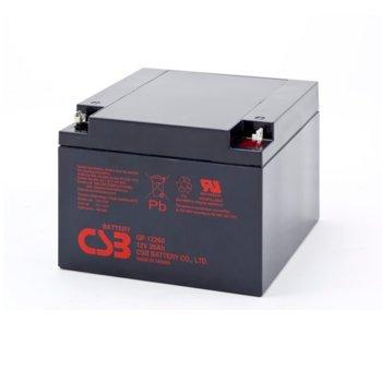 Акумулаторна батерия Eaton GP12260, 12V, 26Ah, VRLA image